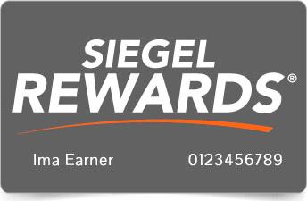 Siegel Rewards Card