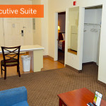 executive suite - Siegel Select Flamingo Rd Las Vegas affordable extended stay hotel suites & apartment rentals