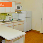 kitchen - Siegel Select Flamingo Rd Las Vegas best priced extended stay hotel suites & apartment rentals