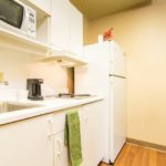 kitchen - Siegel Select Memphis, TN affordable extended stay hotel suites & weekly / monthly apartment rentals