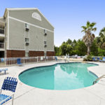 swimming pool - Siegel Select Gautier, MS affordable extended stay hotel suites & weekly / monthly apartment rentals