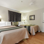 2 bed studio suite - Siegel Select Gautier, MS affordable extended stay hotel suites & weekly / monthly apartment rentals