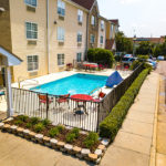 swimming pool - Siegel Select Montgomery, AL best priced extended stay hotel suites & weekly / monthly apartment rentals