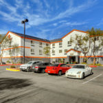 exterior - Siegel Select Flamingo Rd Las Vegas best priced extended stay hotel suites & apartment rentals