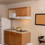 kitchen - Siegel Select Alexandria, LA low cost extended stay hotel suites & weekly / monthly apartment rentals