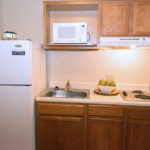 kitchen - Siegel Select Alexandria, LA affordable extended stay hotel suites & weekly / monthly apartment rentals