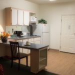 queen suite kitchen - Siegel Select Las Vegas Blvd. affordable extended stay hotel suites & apartment rentals