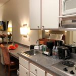 studio suite kitchen area - Siegel Select Las Vegas Blvd. low cost extended stay hotel suites & apartment rentals