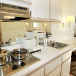 kitchen area - Siegel Select Las Vegas Blvd. low cost extended stay hotel suites & apartment rentals