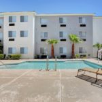 swimming pool - Siegel Select Las Vegas Blvd. low cost extended stay hotel suites & apartment rentals