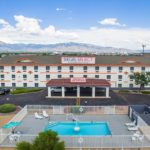 exterior - Siegel Select Albuquerque, NM low cost extended stay hotel suites & weekly / monthly apartment rentals