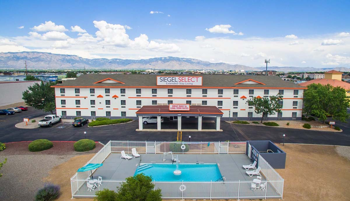 Siegel Select Albuquerque Extended Stay Living In New Mexico