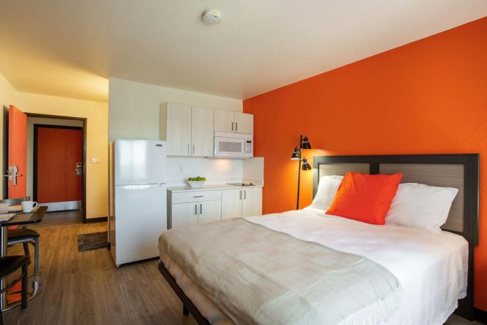 interior view - Siegel Select affordable extended stay hotel & apartment suites in Albuquerque, NM