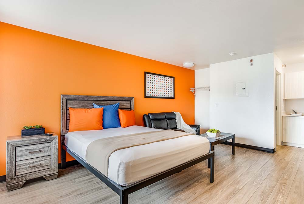 Siegel Select Las Vegas Blvd. affordable extended stay hotel suites & apartment rentals